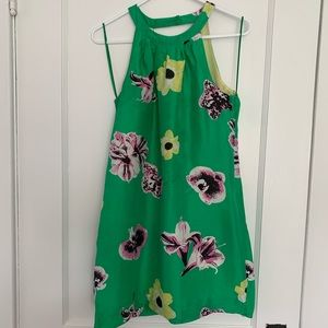 J.Crew Punk Floral Swoop Dress